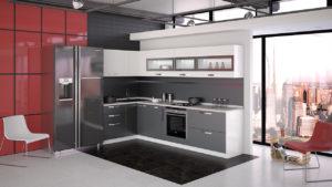 Модульная кухня для хрущевки